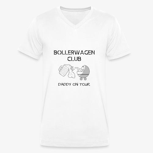 Vatertag - Bollerwagentour Team / Club / Freunde - Männer Bio-T-Shirt mit V-Ausschnitt von Stanley & Stella