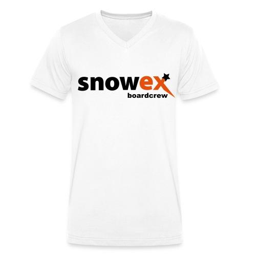 snowex boardcrew white - Männer Bio-T-Shirt mit V-Ausschnitt von Stanley & Stella