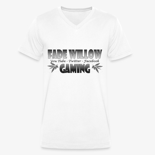 Fade Willow Gaming - Men's Organic V-Neck T-Shirt by Stanley & Stella