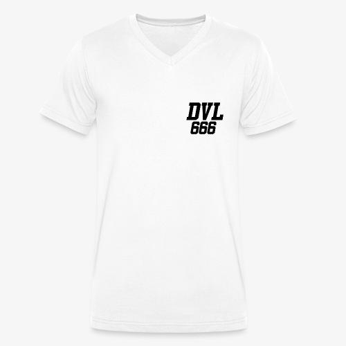 DVL666 - Camiseta ecológica hombre con cuello de pico de Stanley & Stella