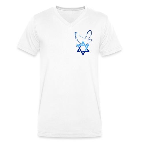 Shalom I - Männer Bio-T-Shirt mit V-Ausschnitt von Stanley & Stella