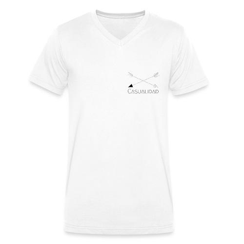 CASUALIDAD arrows - T-shirt ecologica da uomo con scollo a V di Stanley & Stella