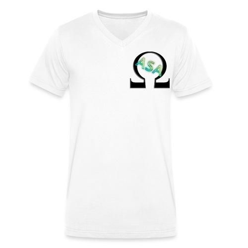 omegaplex official - Men's Organic V-Neck T-Shirt by Stanley & Stella