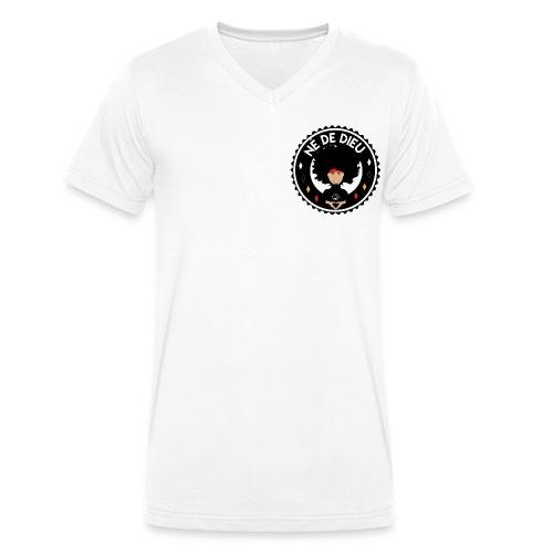 ne de Dieu - T-shirt bio col V Stanley & Stella Homme