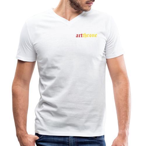 Traditional - Men's Organic V-Neck T-Shirt by Stanley & Stella