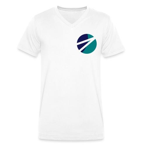 Circle - Männer Bio-T-Shirt mit V-Ausschnitt von Stanley & Stella