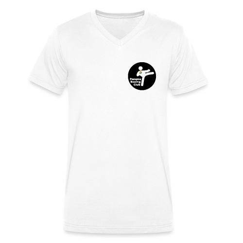 logo PBC - T-shirt bio col V Stanley & Stella Homme