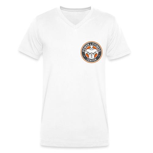 pf logo png - Männer Bio-T-Shirt mit V-Ausschnitt von Stanley & Stella