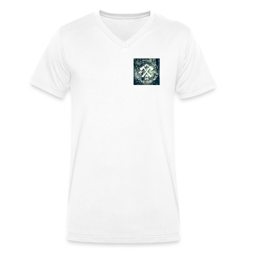 STW - Men's Organic V-Neck T-Shirt by Stanley & Stella