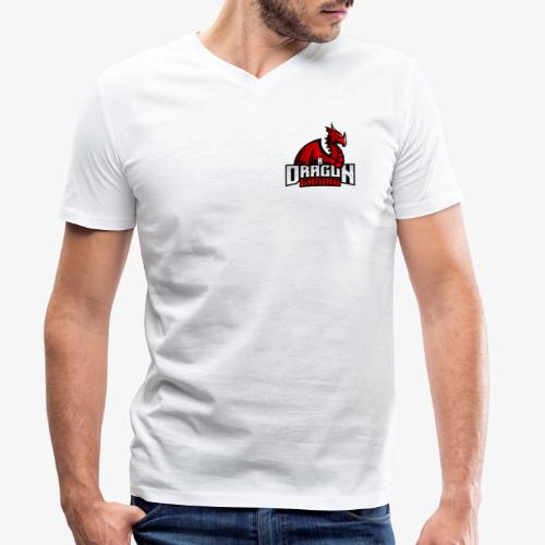 A Dragon Gaming Official Merch - Men's Organic V-Neck T-Shirt by Stanley & Stella