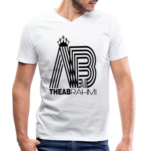 THEABRAHMI BLACK - T-shirt bio col V Stanley & Stella Homme