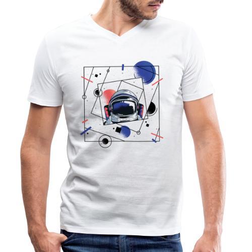 Beste Astronaut Weltraum Designs - Männer Bio-T-Shirt mit V-Ausschnitt von Stanley & Stella