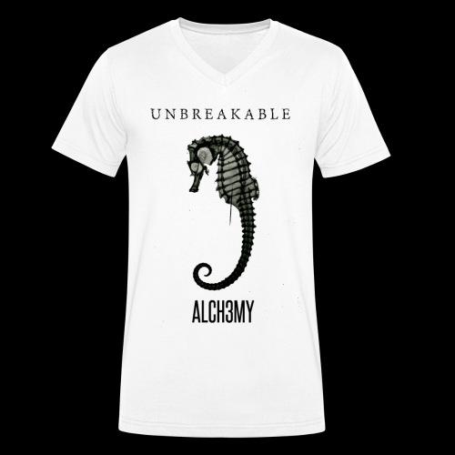 ALCH3MY UNBREAKABLE - T-shirt bio col V Stanley & Stella Homme