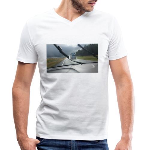 LKW - Truck - Neuseeland - New Zealand - - Männer Bio-T-Shirt mit V-Ausschnitt von Stanley & Stella
