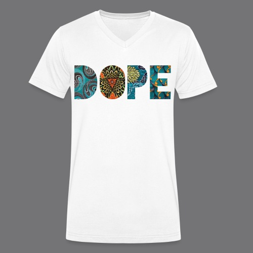 DOPE NATURE Tee Shirts - Men's Organic V-Neck T-Shirt by Stanley & Stella