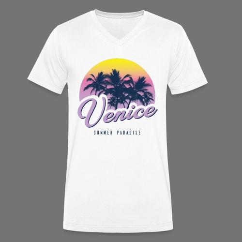 VENICE Tee Shirt - Men's Organic V-Neck T-Shirt by Stanley & Stella