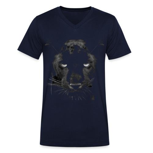 Pantere - T-shirt bio col V Stanley & Stella Homme