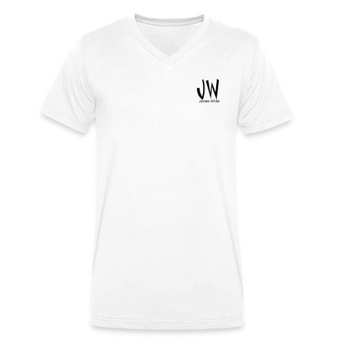 JW - James White - Men's Organic V-Neck T-Shirt by Stanley & Stella