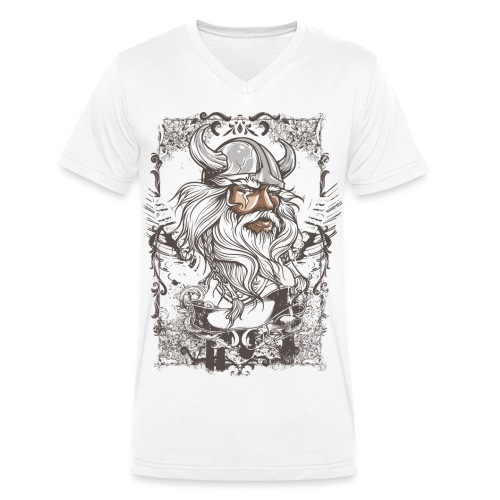 fashion design Maghul - T-shirt bio col V Stanley & Stella Homme