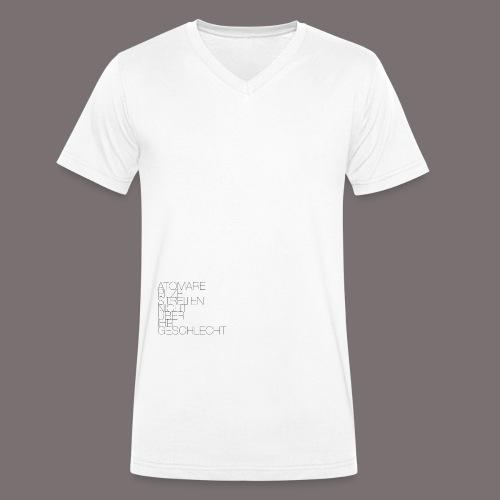 Atomare Pilze streiten nicht über ihr Geschlecht. - Männer Bio-T-Shirt mit V-Ausschnitt von Stanley & Stella