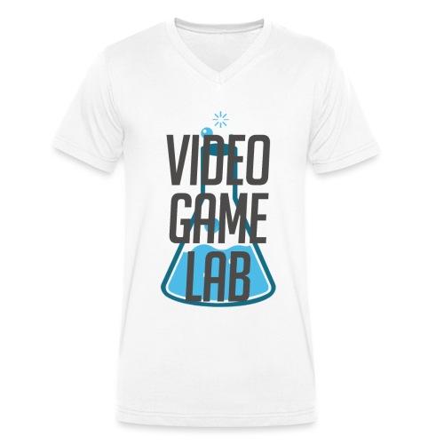 shirtoverlay png - Männer Bio-T-Shirt mit V-Ausschnitt von Stanley & Stella