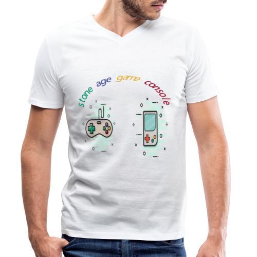 Retro Gaming Tribute - Männer Bio-T-Shirt mit V-Ausschnitt von Stanley & Stella