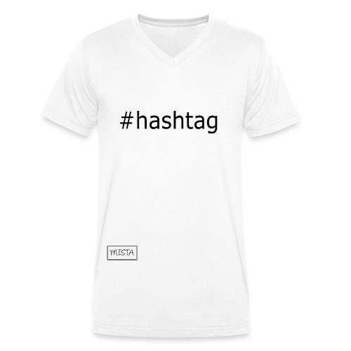 MISTA square - Männer Bio-T-Shirt mit V-Ausschnitt von Stanley & Stella
