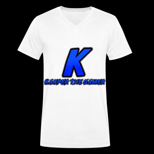Kacper's Shirts - Men's Organic V-Neck T-Shirt by Stanley & Stella