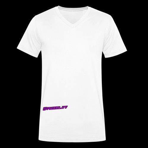@freex_tv - Ekologisk T-shirt med V-ringning herr från Stanley & Stella