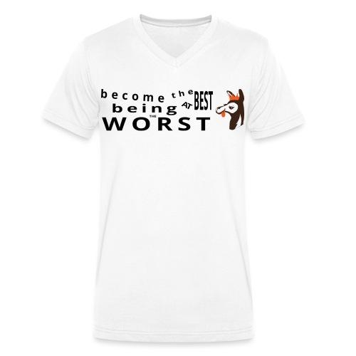 bethebest - Men's Organic V-Neck T-Shirt by Stanley & Stella