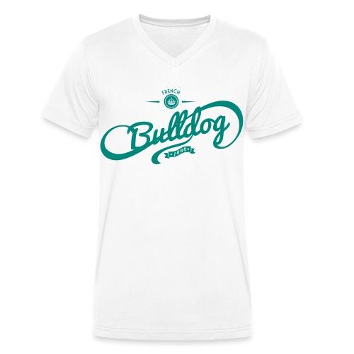 vintage1mint png - Männer Bio-T-Shirt mit V-Ausschnitt von Stanley & Stella