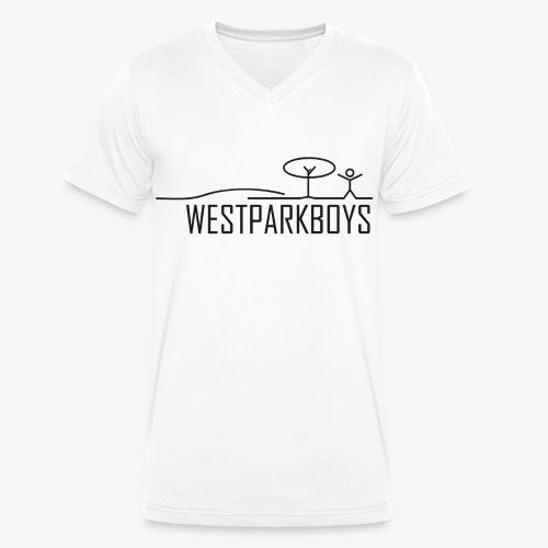 wpb_brust - Männer Bio-T-Shirt mit V-Ausschnitt von Stanley & Stella