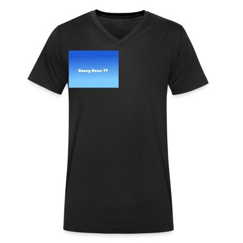 Honey Bears TV Merch - Men's Organic V-Neck T-Shirt by Stanley & Stella