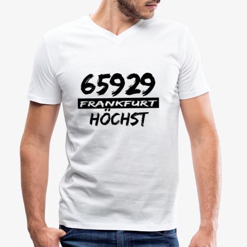 65929 Frankfurt Höchst - Männer Bio-T-Shirt mit V-Ausschnitt von Stanley & Stella