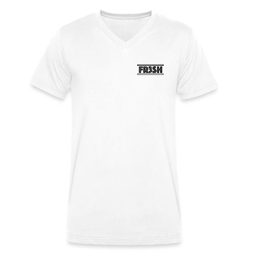 Fr3sh - Mannen bio T-shirt met V-hals van Stanley & Stella