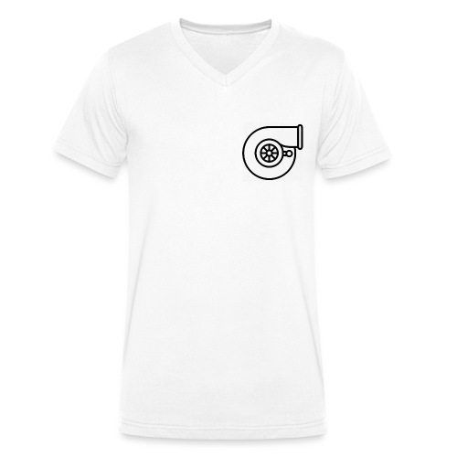Turb0 - Men's Organic V-Neck T-Shirt by Stanley & Stella