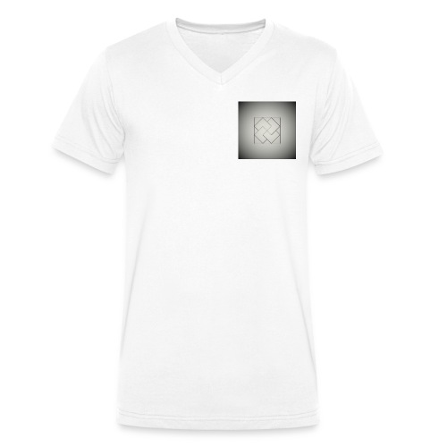 OPHLO LOGO - Men's Organic V-Neck T-Shirt by Stanley & Stella