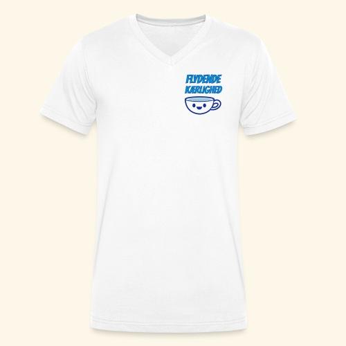 Flydende kærlighed - Økologisk Stanley & Stella T-shirt med V-udskæring til herrer