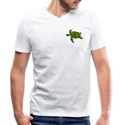 Turtel - Men's Organic V-Neck T-Shirt by Stanley & Stella
