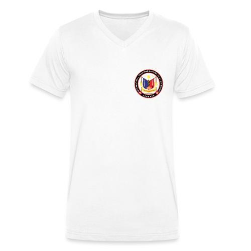 Kombatan Arnis Denmark - Økologisk Stanley & Stella T-shirt med V-udskæring til herrer