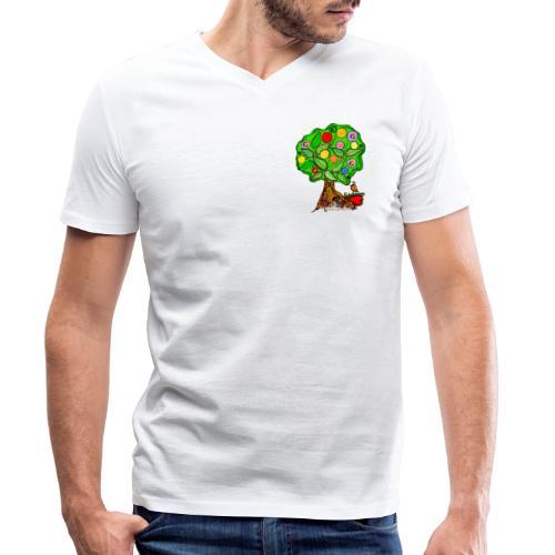LebensBaum - Männer Bio-T-Shirt mit V-Ausschnitt von Stanley & Stella