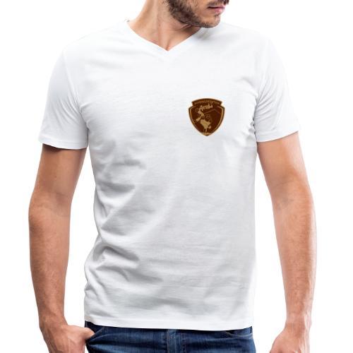 Schwingersektion - Männer Bio-T-Shirt mit V-Ausschnitt von Stanley & Stella