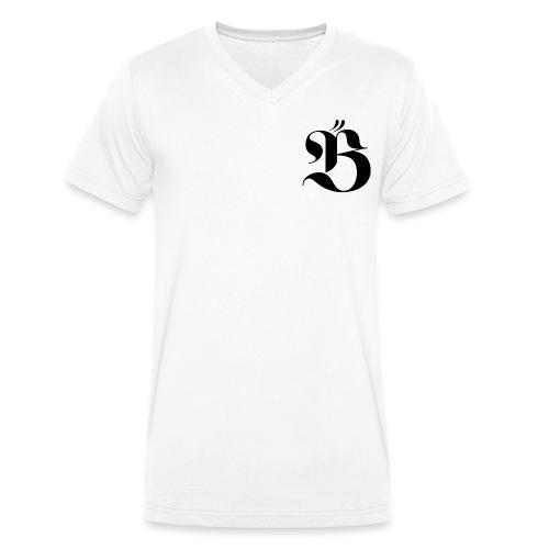 B logo - Ekologisk T-shirt med V-ringning herr från Stanley & Stella