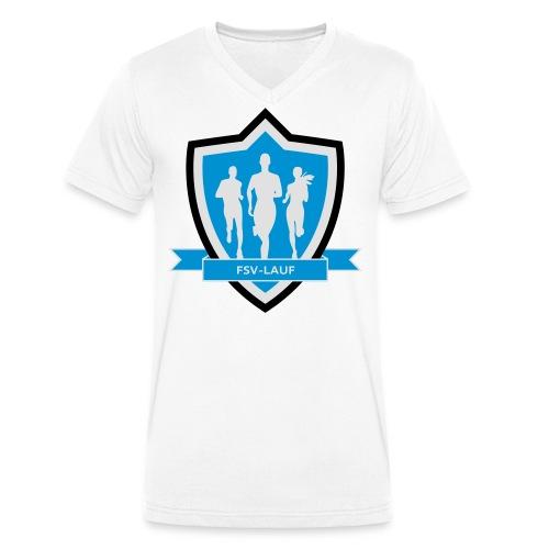 FSV-Lauf - Männer Bio-T-Shirt mit V-Ausschnitt von Stanley & Stella