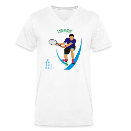 Tennis - T-shirt bio col V Stanley & Stella Homme