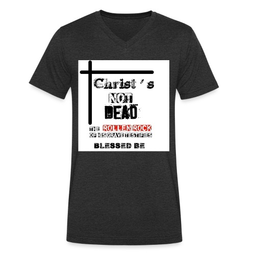 Christ's Not Dead - T-shirt bio col V Stanley & Stella Homme