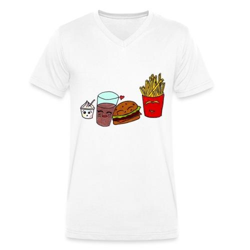 mcdo png - T-shirt bio col V Stanley & Stella Homme
