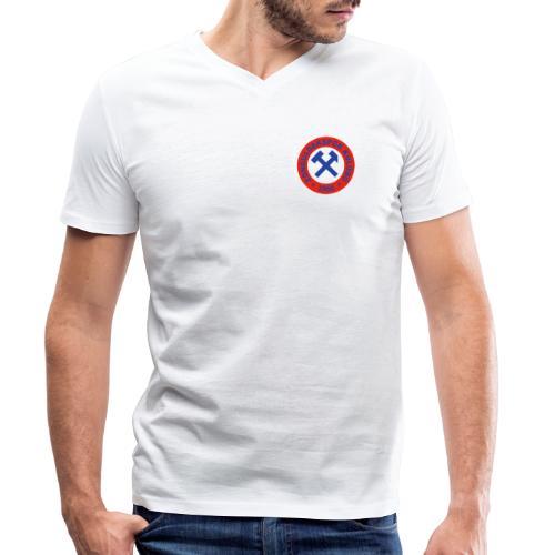 Zonguldakspor png - Männer Bio-T-Shirt mit V-Ausschnitt von Stanley & Stella