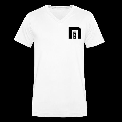 MCOH Brand - Männer Bio-T-Shirt mit V-Ausschnitt von Stanley & Stella