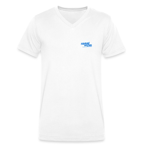 Logo TDC BLEU 2018 - T-shirt bio col V Stanley & Stella Homme